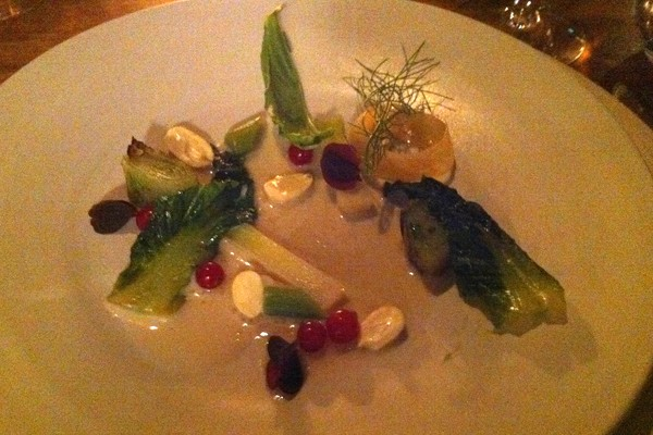 Vegetables with buttermilk
